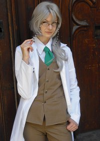 Cosplay-Cover: Dr. Jezebel Disraeli