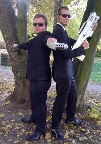 Cosplay-Cover: Men in Black Agent K