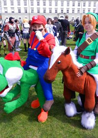 Cosplay-Cover: Link auf Epona