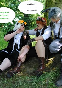 Cosplay-Cover: Blume