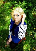 Cosplay-Cover: Android #18 (C18/Lazuli)