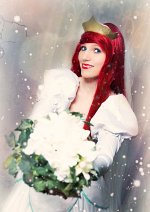 Cosplay-Cover: Arielle (Hochzeitskleid)