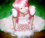 Cosplay-Cover: Euphemia (pink lolita dress)