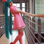 Cosplay: Hatsune Miku [Love Coloured Ward]