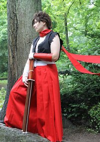 Cosplay-Cover: Lloyd Irving Mizuho-Outfit