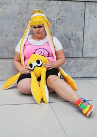 Cosplay-Cover: Inkling Girl (yellow)