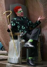 Cosplay-Cover: Riddler [Jim Carrey]