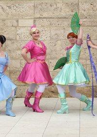 Cosplay-Cover: Viveca [Barbie und die drei Musketiere]