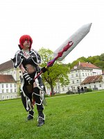 Cosplay-Cover: Erza Scarlet [Black Wing Armour]