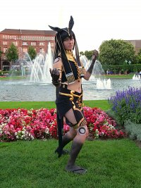 Cosplay-Cover: Anubis Ma'at