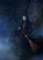 Cosplay-Cover: Elphaba