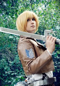 Cosplay-Cover: Armin Arlert (Scouting Legion)