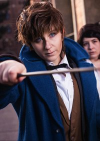 Cosplay-Cover: Newt Scamander (Fantastic Beasts)