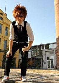 Cosplay-Cover: Tsunayoshi Sawada   Schuluniform