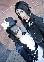 Cosplay-Cover: Sebastian Michaelis (blue artwork) [Cos-Nr. 17]