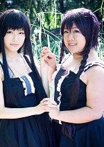 Cosplay-Cover: Azusa Nakano [Black-White-Dresses]