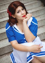 Cosplay-Cover: Peggy Carter [Avengers Academy]