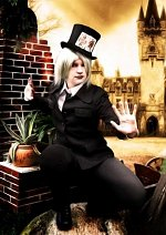 Cosplay-Cover: Mad Hatter (Black Verison)