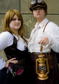 Cosplay-Cover: Gretel [Steampunk]