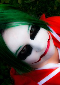 Cosplay-Cover: Joker Arkham Asylum Prisoner (Female)