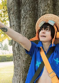 Cosplay-Cover: Monkey D. Luffy •Strong World•