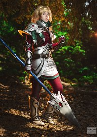 Cosplay-Cover: Jeanne d'Arc (Ritterin)