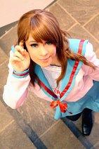 Cosplay-Cover: Mikuru Asahina (Schuluniform)