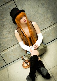 Cosplay-Cover: Mad Hatter  [fem Version]