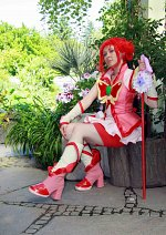 Cosplay-Cover: Cure Rouge (Yes! Pretty Cure 5 Go Go)