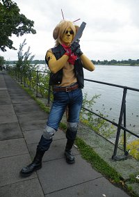 Cosplay-Cover: Throttle (Biker Mice from Mars)