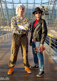 Cosplay-Cover: Marty McFly (1955)