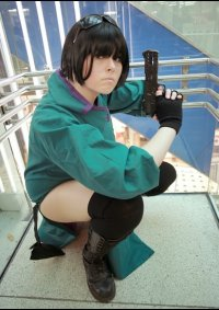 Cosplay-Cover: Mjr. Motoko Kusanagi [Green Dress]