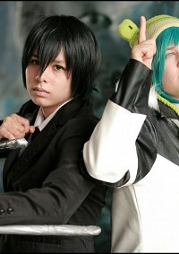 Cosplay-Cover: Hibari Kyoya {Black Suit / Gr8 Story Version}