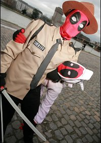 Cosplay-Cover: Sheriff Deadpool