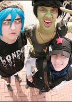 Cosplay-Cover: Murdoc Niccals [Plastic Beach]