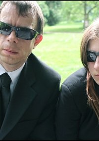 Cosplay-Cover: Jennifer Whol (Man in Black)