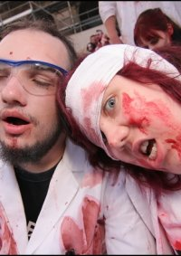 Cosplay-Cover: Chemiker-Zombie