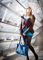 Cosplay-Cover: Mikuru Asahina - Winteruniform