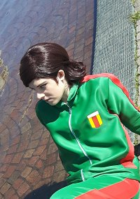 Cosplay-Cover: Gianluca Zanardi [Trainingsanzug]