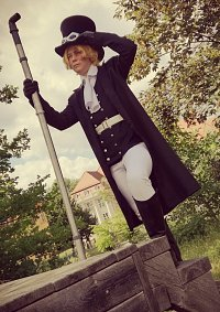 Cosplay-Cover: Sabo (black & withe Version)