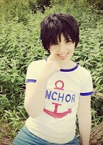 Cosplay-Cover: Monkey D. Luffy [Child Version 1]