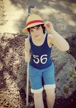 Cosplay-Cover: Monkey D. Luffy [Child Version 2]