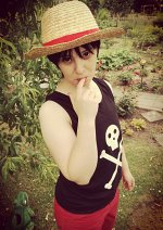 Cosplay-Cover: Monkey D. Luffy [Child Version 4]