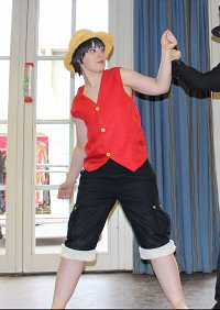 Cosplay-Cover: Monkey D. Luffy [Enies Lobby]