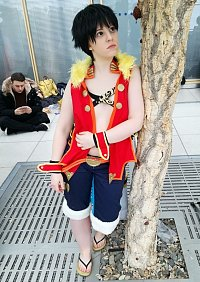 Cosplay-Cover: Monkey D. Luffy [Unlimited Cruise]