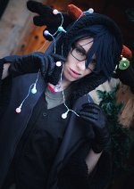 Cosplay-Cover: Saruhiko Fushimi [Lost King Christmas Card]