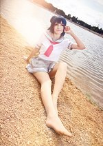 Cosplay-Cover: Yoshiko Tsushima - Summer School Uniform