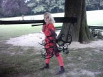 Cosplay-Cover: Seras Victoria bloody Version 2.0