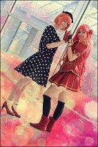 Cosplay-Cover: Tomochika Shibuya (Debut-Uniform)