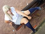 Cosplay-Cover: Naminé School Uniform